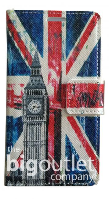 Etui Housse Coque Simili Cuir UK Big Ben Londres for Sony